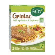 Soy - Galettes Grinioc épeautre & légumes 2x100g