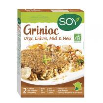 Soy (frais) - Galettes Grinioc orge chèvre miel noix 2x100g