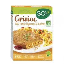Soy - Galettes Grinioc riz légumes et safran 2x100g