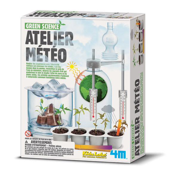 4M - Kit Atelier météo Green Science - Dès 8 ans
