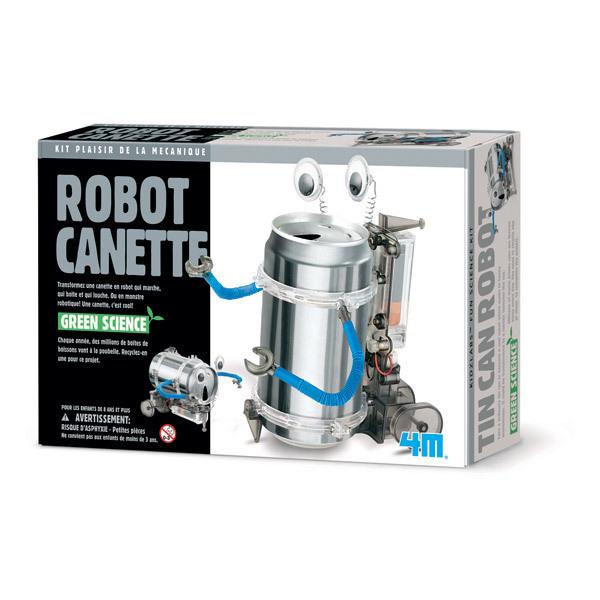 4M - Kit Construction Robot Canette - Dès 8 ans