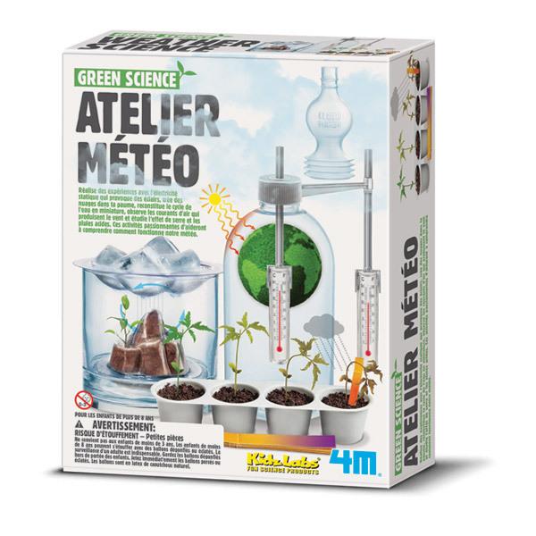 4M - Kit Atelier meteo Green Science - Des 8 ans