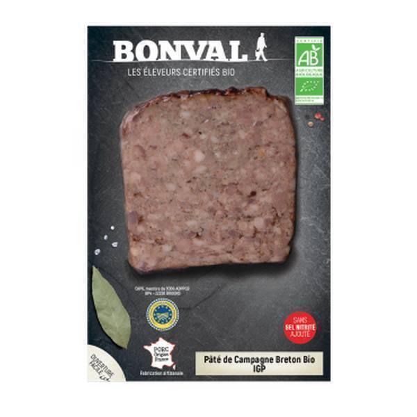 Bonval - Pâté de campagne Breton 150g