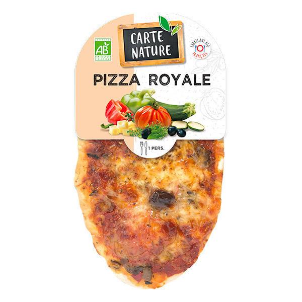 Carte Nature - Pizza royale 150g