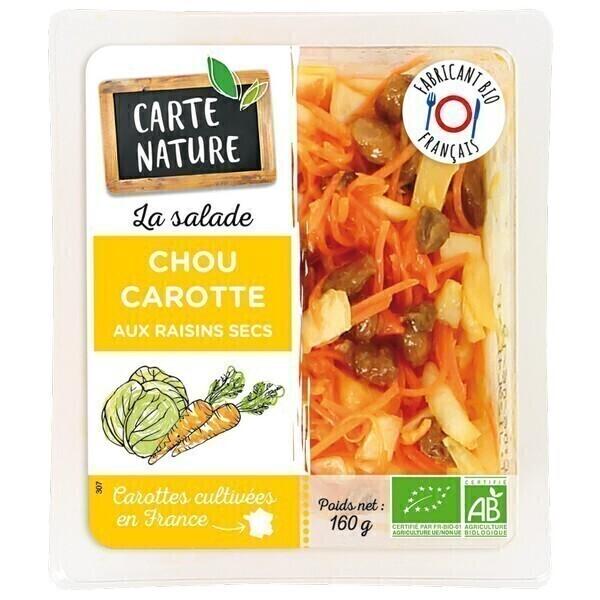Carte Nature - Salade de chou carottes 160g