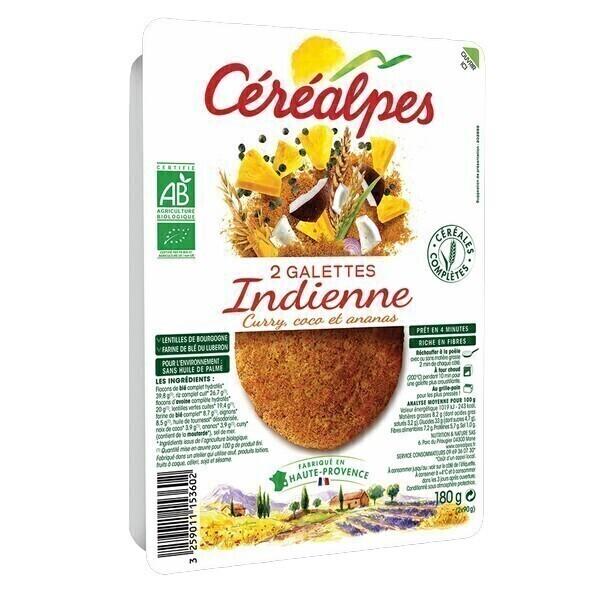 Céréalpes - Galettes indiennes 2x90g