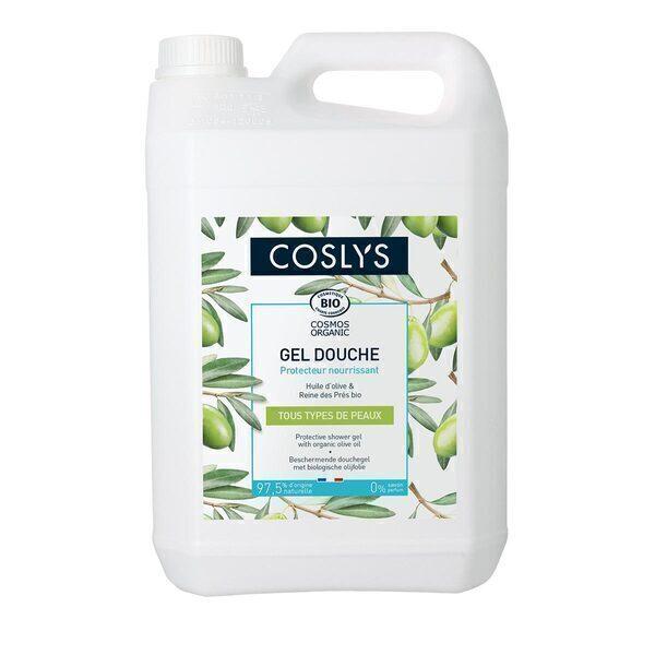 Coslys - Gel douche protecteur à l'huile d'olive 5L