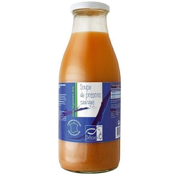 Délices d'Ô - Soupe poissons légumes 1L