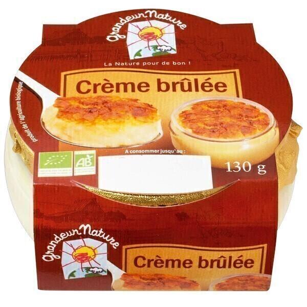 Grandeur Nature - Crème brulée 130g