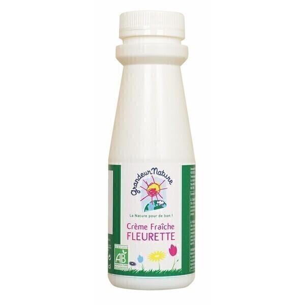 Grandeur Nature - Crème fraîche fleurette 25cl