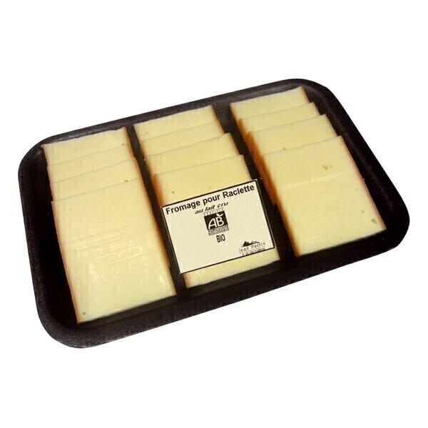 Jean Perrin - Raclette tranchée bio x 12 tranches
