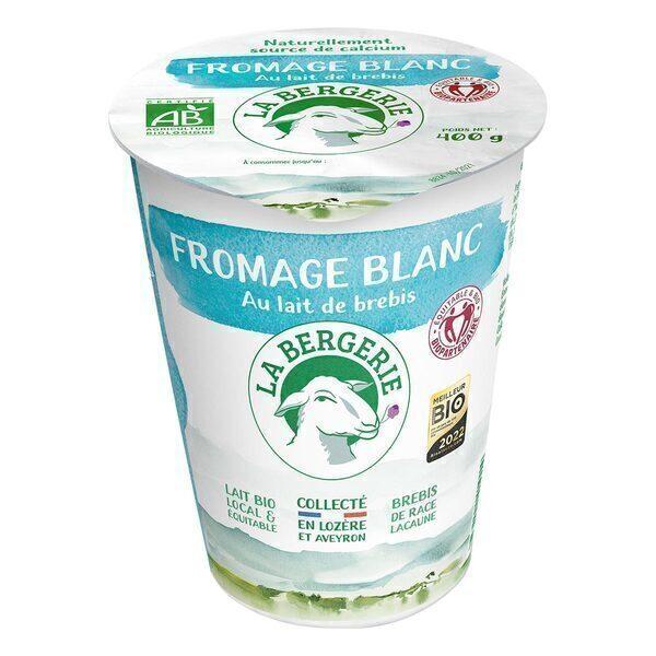 Fromage Blanc Brebis Nature G La Bergerie  Acheter Sur GreenweezCom
