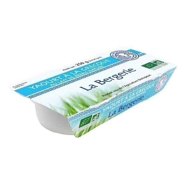 La Bergerie - Yaourt à la grecque lait brebis 2x125g
