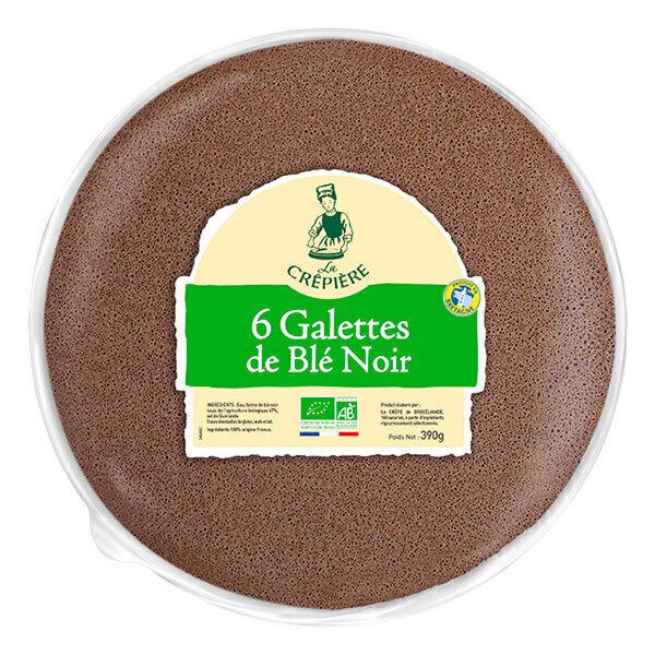 La Crêpière - Galette de blé noir x 6 390g