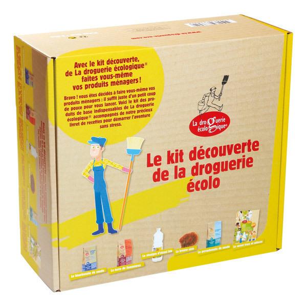 Coffret kit d couverte droguerie cologique la droguerie cologique acheter sur - Maison en kit ecologique ...