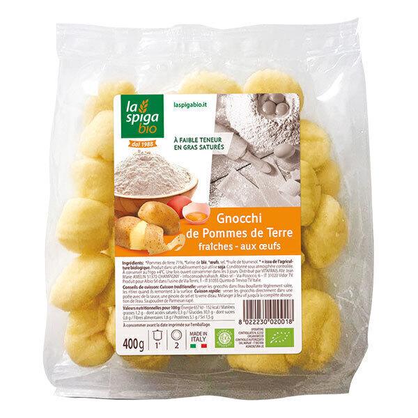 La Spiga Bio - Gnocchi pommes de terre fraiches 400g