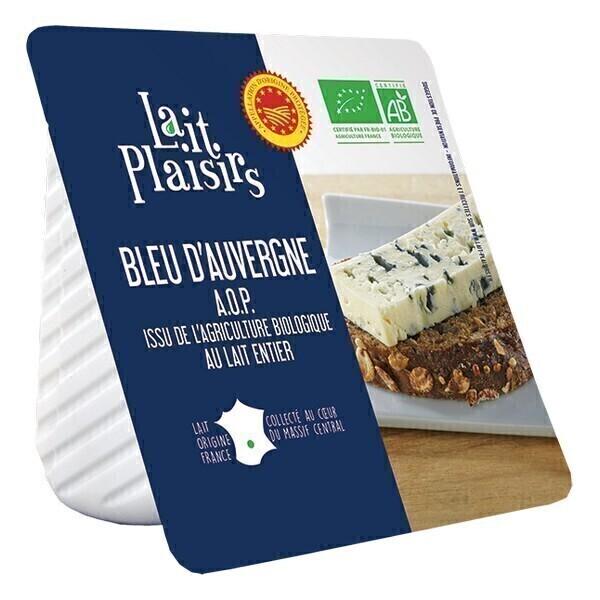 Lait Plaisirs - Bleu d'Auvergne AOP 125g