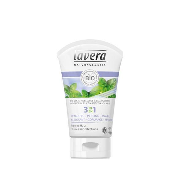 Lavera - 3en1 nettoyant gommage masque 125ml