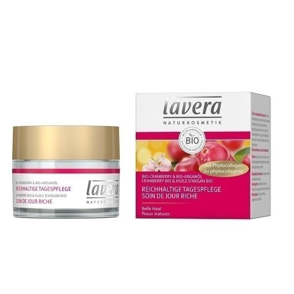Lavera - Soin de jour riche cranberry bio 50ml