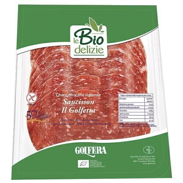 Le Biodelizie di Golfera - Saucisson Il Golfetta sans sel nitrité 80g