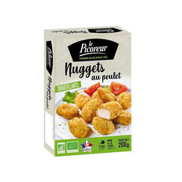 Le Picoreur - Nuggets de volaille croustillants bio 200g