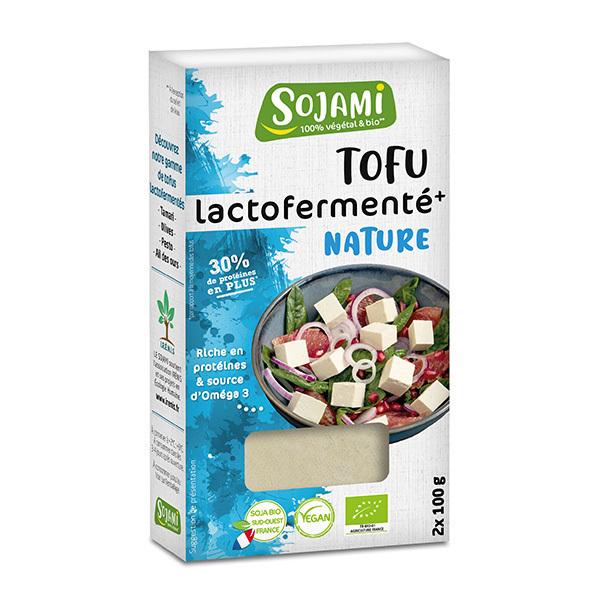 Le Sojami - Tofu lactofermenté nature 200g