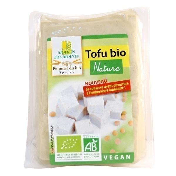 Moulin des Moines - Tofu Nature Végan bio 200g