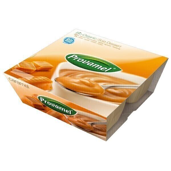 Provamel - Soya dessert caramel 4x125g