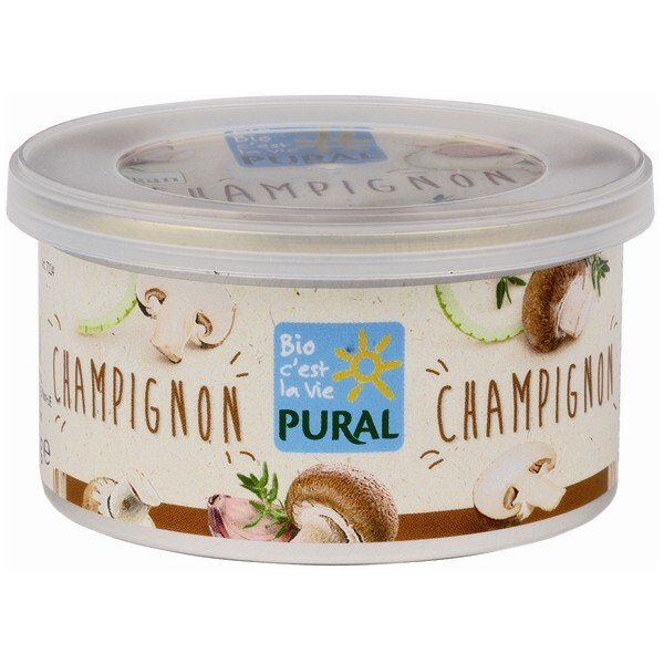 Pural - Pâté végétal champignons 125g