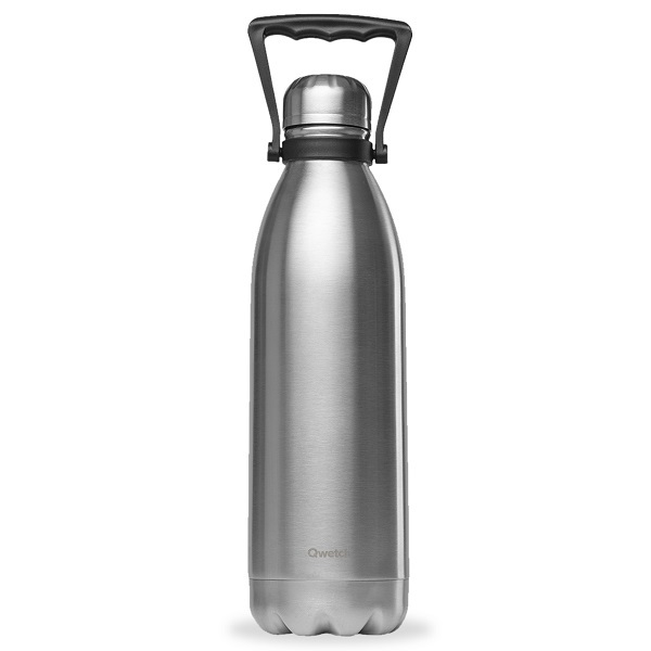 Qwetch - Bouteille isotherme Originals Inox 1,5L