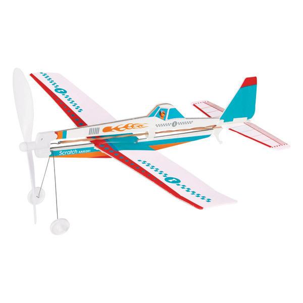 Scratch - Avion à remonter Acrobat Feu - Dès 8 ans
