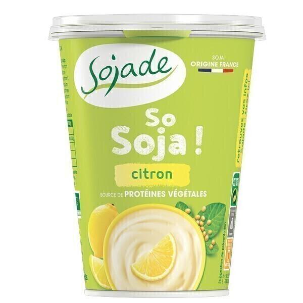 Sojade (Frais) - Sojade citron 400g