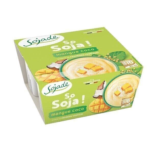 Sojade (Frais) - Sojade mangue coco 4x100g