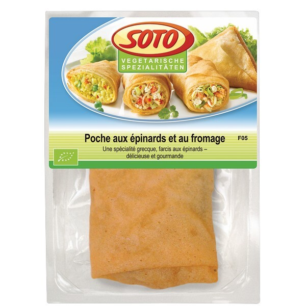 Soto - Poche épinards fromage 150g