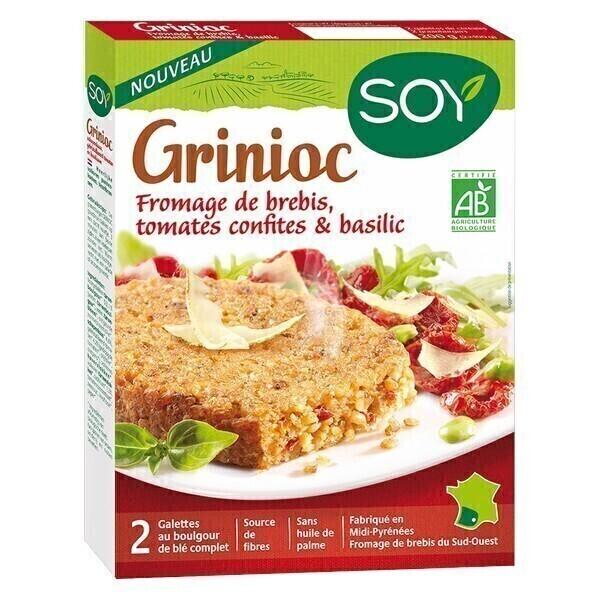 Soy (frais) - Grinioc fromage brebis 2x100g