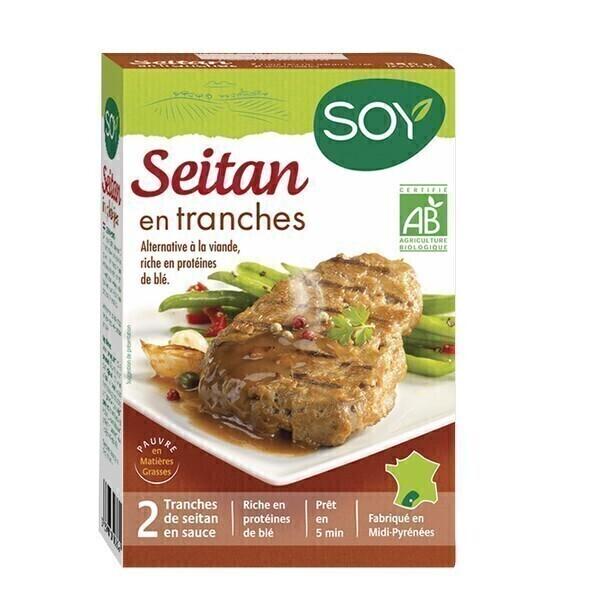 Soy (frais) - Seitan en tranches 2x125g
