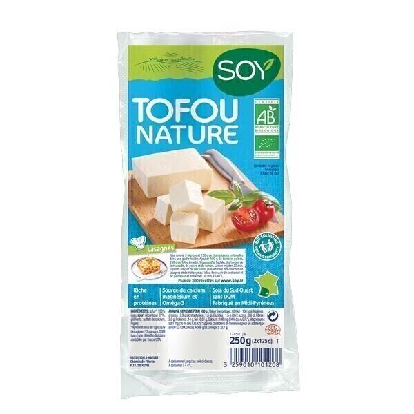 Soy (frais) - Tofu nature 2x125g