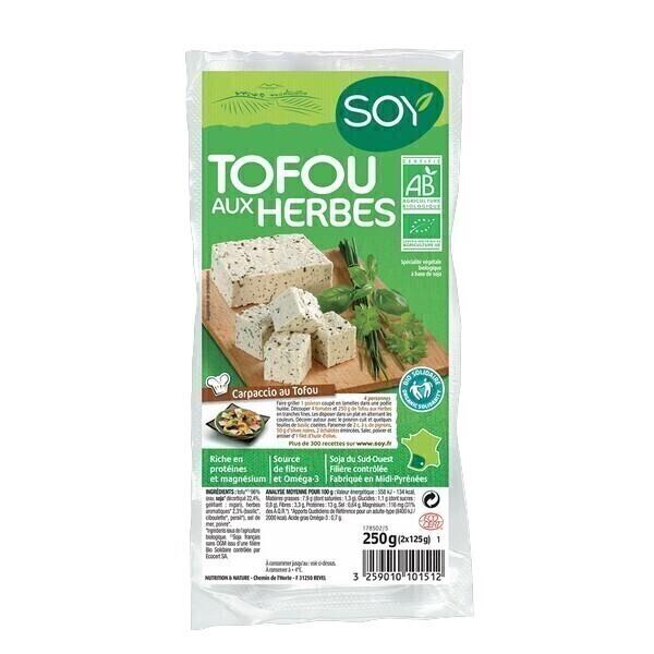 Soy (frais) - Tofu aux herbes 2x125g