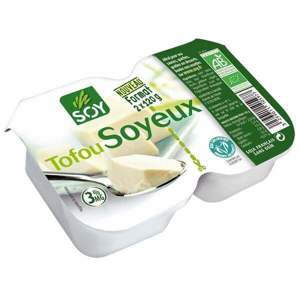 Soy (frais) - Tofu soyeux 2x120g