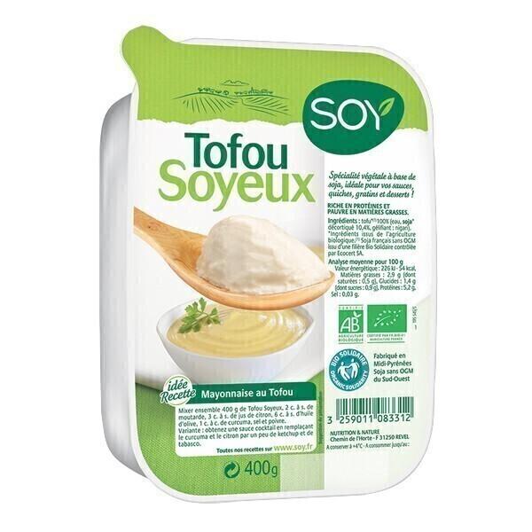 Soy - Tofu soyeux nature 400g