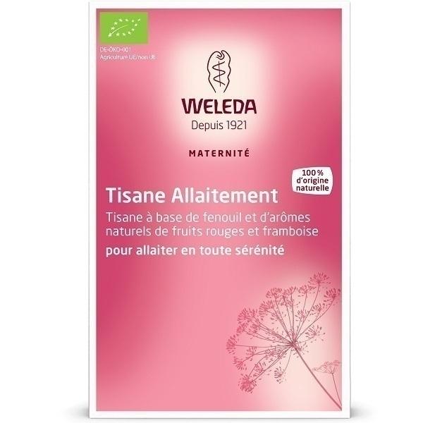 Weleda - Tisane allaitement fenouil et fruits rouges 20 sachets