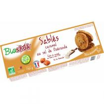 Bioshok - Biscuits sablés sel guérande 150gr