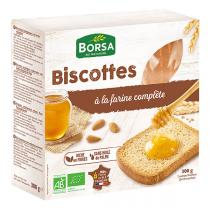 Borsa - Biscottes à la farine complète 300g