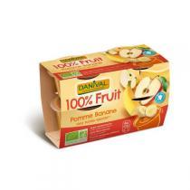 Danival - Purée Pommes bananes BIO 4 x 100g