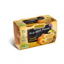 Danival - Purée Pommes-mirabelles BIO 4 x 100g