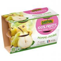 Danival - Purée Pommes poires BIO 4 x 100g