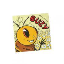 Ecodis - Cahier à colorier Buzy - 20 pages en papier recyclé