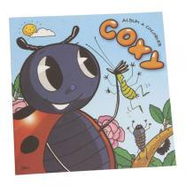 Ecodis - Cahier à colorier Coxy - 12 pages en papier recyclé