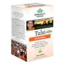Ecoidées - Infusion Tulsi et Gingembre bio - 18 infusettes