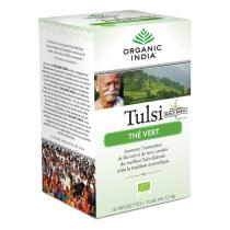 Ecoidées - Infusion Tulsi thé vert bio - 18 infusettes